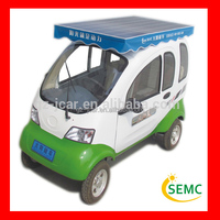 china supplier solar power four wheel electric scooter, electric car & vehicle, scooter electric & electric bicycle for sale