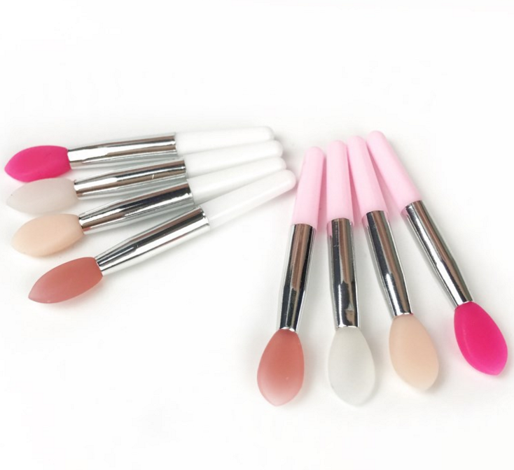 High Quality Hot Silicone Head Lip Makeup Brush