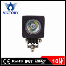 Mini work light !!Led Motorcycle Headlight 10W square extra light, Car Accessories for offroad truck