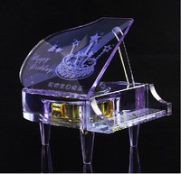 Fashion top best quality popular style funny shape mini digital music box