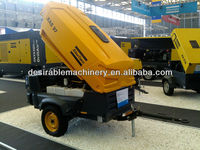 Atlas Copco Genuine sand blasting portable compressor for sale