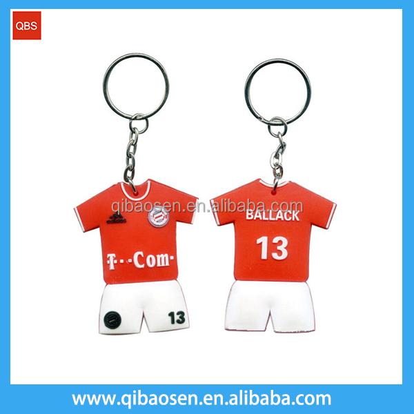 Custom LOGO cheap soft pvc keyring /color sheet name sublimation blank keychain