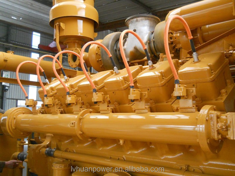 500kw natural gas generator set high quality engine with good Control System