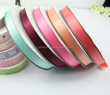 2015 wholesale high quality polyester satin ribbon