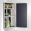 Promotion Bathroom Storage Corner Mirror Cabinet 7041