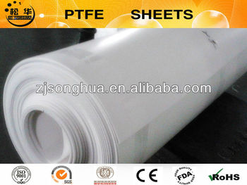 100% virgin material PTFE skived sheet