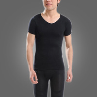 Hot Selling Men Short Sleeve Blank Loose Fit T-shirt Y60