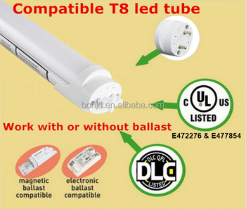 Shenzhen factory lower price ul dlc 5 years warranty 8ft 36w 40w FA8 BASE SINGLE PIN 8FT 240cm led tube
