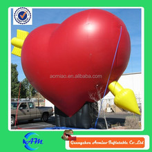 arrow heart inflatable advertising