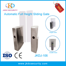 Best turnstile 304 stainless steel Automatic Access Control Full Height Sliding Gate Barrier JKDJ-106