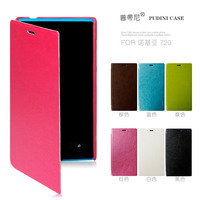 2014 PUDINI Wholesale Rui series mobile phone leather flip case for nokia lumia 720