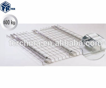 PALLET RACK SYSTEM WELDED WIRE MESH STEEL SHELVES
