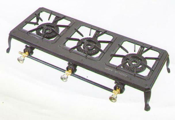 cheap price 3 burner gas stove Cast iron three burner gas stove
