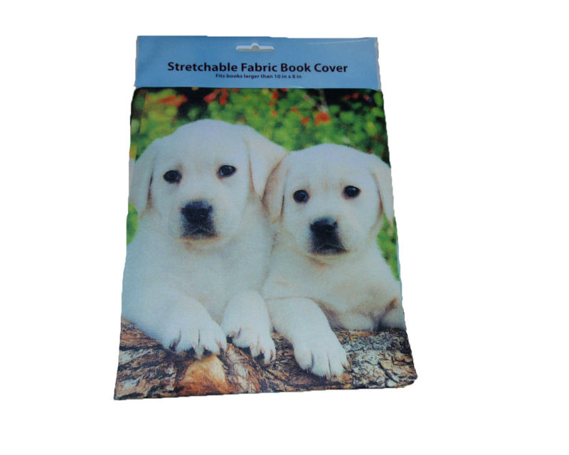 desiney licensed wholesale custom printed stretchable fabric book cover