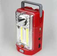 KDHJ LED rechargeable emergency light with big battery protable lamp