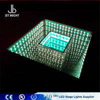 Tempered glass floor mats led floor for night club