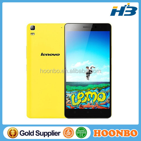 "Promotion Yellow Lenovo K3 Note K50-T5 4G LTE Mobile Phone MTK6752 Octa Dual SIM Core 5.5"" 1920x1080P Android 5.0 Smart phone"