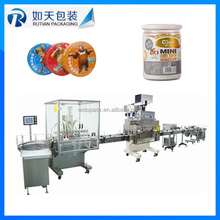 Automatic water liquid packaging line/sachet filling machine powder