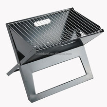 Outdoor Portable foldable X type charcoal stainless steel bbq grill