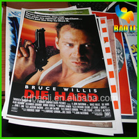 full colour digital printing movie poster