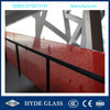 4mm clear +0.38PVB+4mm clear toughened laminated balustrade railing glass