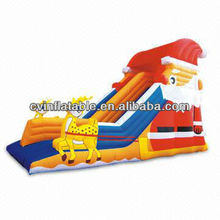 inflatable christmas slide
