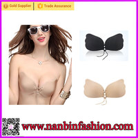 Nanbinfashion latest design wholesale latex bra for young lady