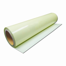 Zelfklevende reflecterende pvc afdrukken fluorescerende fotoluminescent glow in the dark sticker film tape papier vel vinyl in roll