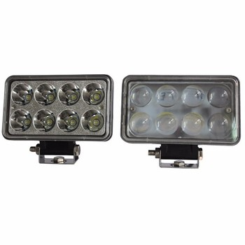 Factory Directly rectangle 12V 24V 7inch 24w led truck headlight