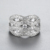 Hot sale wholesale price ladies cz rings