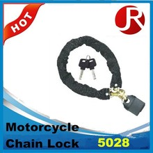 motorcycle chain lock with padlock