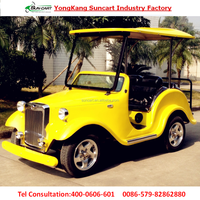 real estate used luxury 4 seater electric classic car,vintage car for pick up