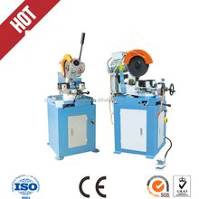 Semi-automatic metal steel and iron tube and angle bar and rod saw circle cheap price cutter cutting machine