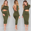 lx10191a sexy crop top women new fashion lady long skirt