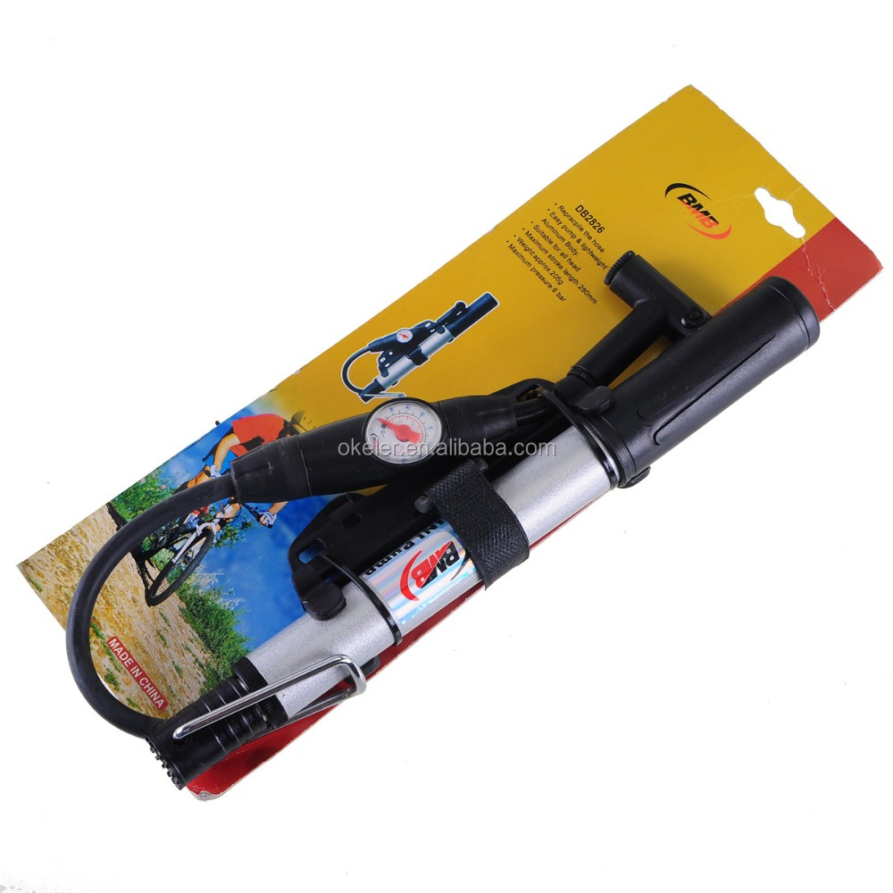 2016 New 28cm Bicycle Pump Air Tire Mini Portable Hand Pump