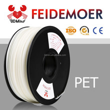 Hot Selling 3d Printer Filament 1.75mm 3mm PET Filament for New Molding