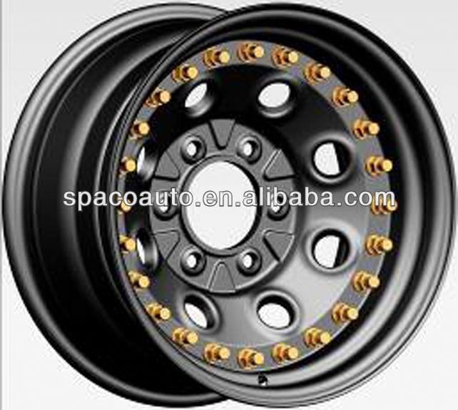 New design offroad wheels rim 16x7j with good quality