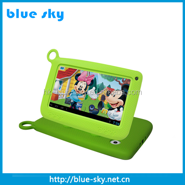 Best selling and nice shape RK3126 android 7 inch mid table laptop wifi for kids