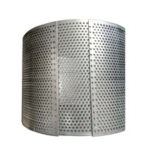 Low Price Stainless Steel Round hole punched Metal Screen Wire <strong>Mesh</strong>
