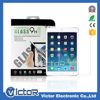 Korea 9H 2.5D 0.33mm Tempered Glass Screen Protector for Ipad air 2/mini 2/mini 3 (Customized Package Available)