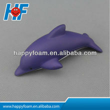 2014 New Color PU DOLPHIN STRESS BALL/release pressure ball