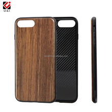 walnut wood smart phone case for iphone,wooden cell phone cover for iphone 7,mobile phone accessories