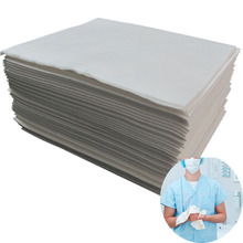 Customized soft hand feeling medical spunlace nonwoven hand wipes