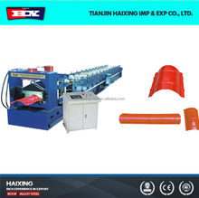 Widely Used Color Steel Metal Roof Ridge Cap Tile Cold Roll Forming Machine/Making Machine China