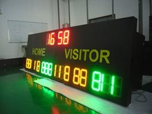 Sports Stadium Livescore Number LED Digital Display Board for soccer, tennis, basketball, baseball