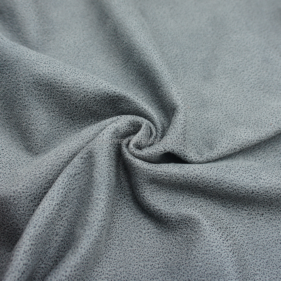 Italian Soft And Flowing Micro Embossed Printed Velvet Like Velvet Fabric For Sofa For Upholstery