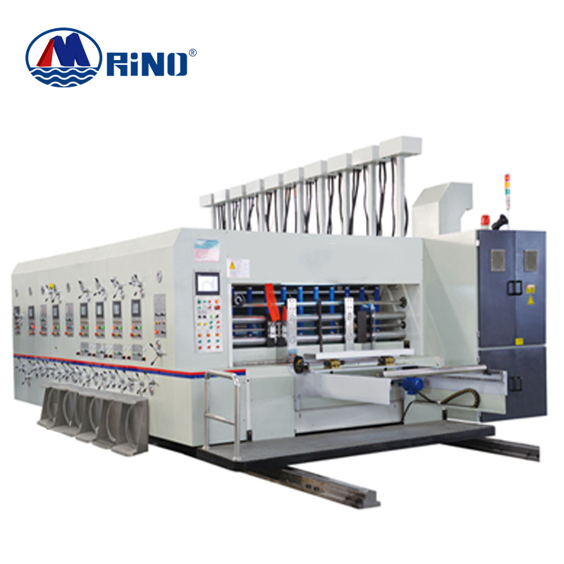 New HRT Lead Edge Feeding Single Color Flexo Printing Machine with Slotter