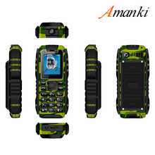 IP67 Waterproof 1.77 Inch 4400mAh Big Battery Rugged Mobile Phone