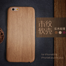 Natural Wooden Bamboo Phone Case For Apple iPhone 6 6s 7 8 plus X