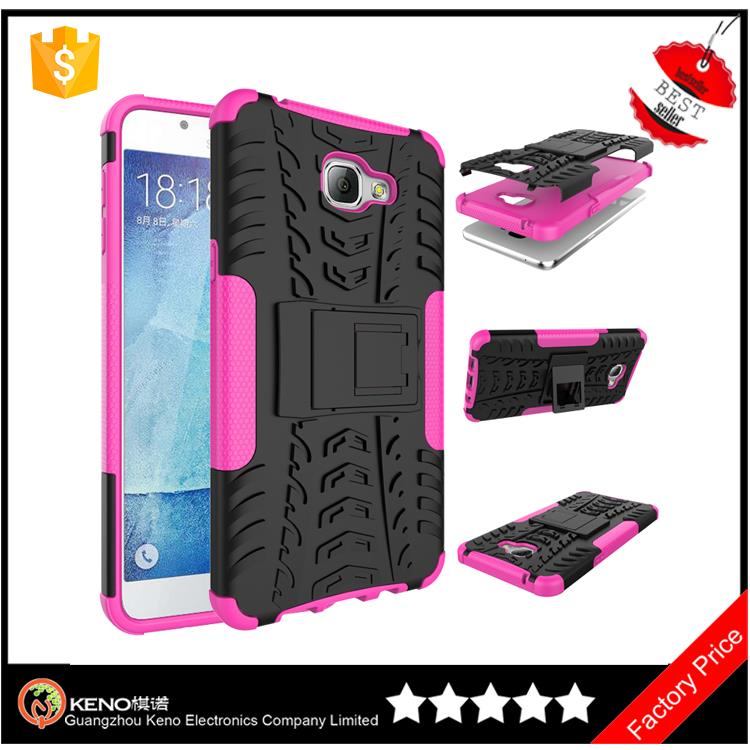 2016 Newest 2 in 1 drop proof mobile case accessories armor case for lenovo a7000 with kickstand